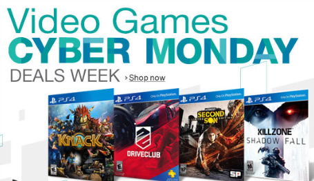 Cyber Monday Video Game Deals