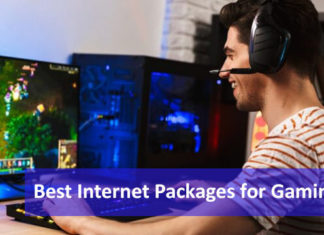 best internet packages for gaming